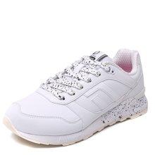 德尔惠女鞋运动女跑步鞋2017春季新款复古耐磨减震女子休闲慢跑鞋T74624513