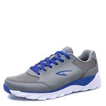 德尔惠2017年春季新品跑步鞋男子休闲运动跑鞋男士耐磨慢跑鞋旅游T23613621