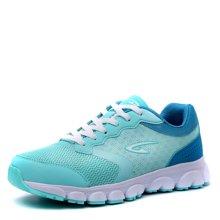 德尔惠女鞋2017新款跑步鞋女春季运动鞋女款轻便透气慢跑鞋正品T22623666