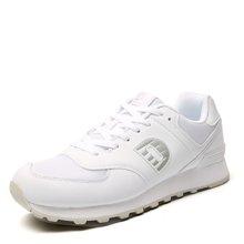 德尔惠男鞋复古跑步鞋男春季小白鞋运动鞋轻便男士跑鞋透气休闲鞋T71614529