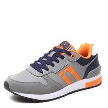 德尔惠男鞋复古跑步鞋男子春季运动鞋耐磨男士慢跑旅游鞋T74614517