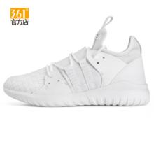 361度女鞋白色运动鞋2017秋季新款防滑耐磨学生透气女生跑步休闲鞋