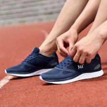 361度网面休闲鞋子秋季透气男士跑步鞋男鞋学生透气轻便运动鞋