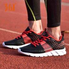 361度男鞋运动鞋春夏季网面透气防臭青少年学生超轻休闲跑步鞋