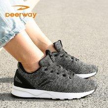 德尔惠女跑步鞋运动鞋春季新款耐磨舒适轻便旅游鞋慢跑鞋休闲潮流21823601