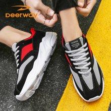 男鞋网面透气休闲鞋春季运动鞋情侣跑步鞋女学生韩版潮鞋子T21813404