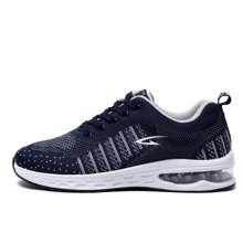 德尔惠男鞋春夏新款运动鞋舒适百搭气垫跑步鞋WP21813364