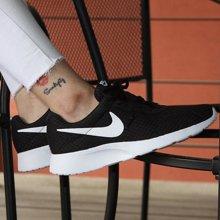 NIKE TANJUN耐克跑步鞋女鞋春夏透气休闲小白鞋运动鞋812655-110