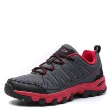 德尔惠登山鞋男防滑透气徒步鞋春季低帮运动男鞋系带户外鞋越野43614021