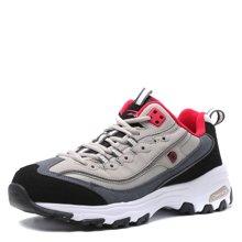 德尔惠棉鞋冬季新款跑步鞋加绒运动男子跑鞋保暖运动熊猫鞋男鞋T44614077