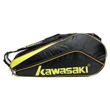 Kawasaki/川崎 羽毛球包运动球包 KBB-8600P  6只装 带鞋袋