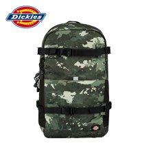 Dickies潮流百搭迷彩大容量双肩包登山包学生书包背包 161U90LBB08GN01/军绿