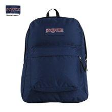 JanSport杰斯伯双肩包正品学院风书包男女背包T501 003藏青蓝