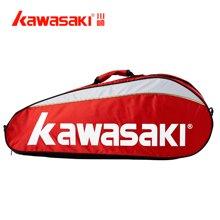KAWASAKI川崎  羽毛球包专业羽毛球拍包TCC047/8308多功能
