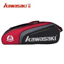 KAWASAKI/川崎  专业羽毛球包TCC053六支装羽毛球袋6支装单肩男女款运动休闲包鞋