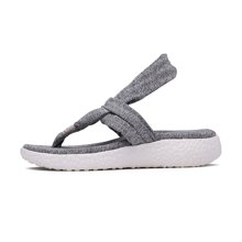Skechers/斯凯奇 夹弹力布波西米亚凉鞋 趾松糕底女子拖鞋 38598