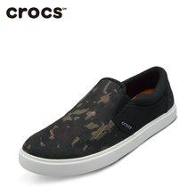 Crocs/卡骆驰 都会街头迷彩休闲便鞋户外男帆布鞋 203651