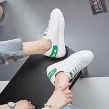 乐嘉途女鞋春季新款小白鞋女学生chic鞋平底百搭板鞋韩版原宿帆布鞋休闲鞋子X1111