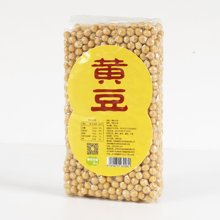 米小胖有机黄豆 350g*5袋 东北特产 五谷杂粮 大豆 健康粗粮1750g