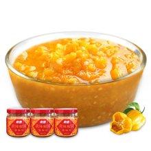 南国 黄辣椒酱(香辣)100*3  海南特产黄灯笼辣椒辣酱拌面拌饭酱调味 南国食品