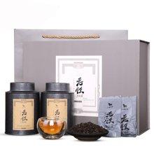 八马茶叶 安溪铁观音陈香老铁2008 陈年原产地特级茶叶礼盒126克  AA4010