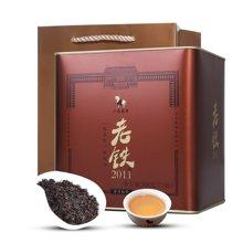 八马茶叶 陈香型铁观音 乌龙茶老铁2011罐装500克  AA4013