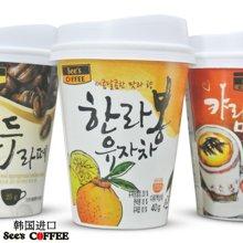 韩国进口禧滋香草味卡布奇诺 速溶咖啡杯装23g/杯 ,2年保质期至17年9月1元1杯