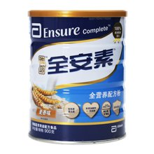雅培全安素营养配方粉(麦香味)(900g)