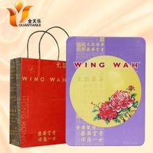 WING WAH香港元朗荣华月饼进口蛋黄白莲蓉独立包装70g*6枚装2017新款