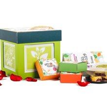 良食网 蔬菜玫瑰饼四种口味 12枚礼盒装