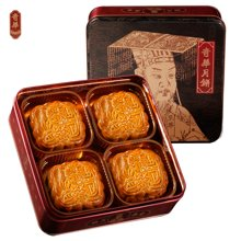 奇华双黄金黄莲蓉月饼740g