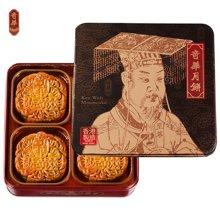 奇华双黄豆沙月饼740g