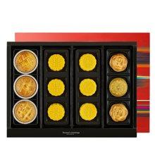 郭元益奶黄月饼台湾进口传统凤梨酥豆沙多口味台式月饼郭元益集锦礼盒装504g12入