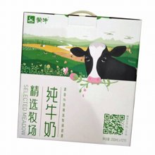 蒙牛精选牧场纯牛奶(250ml*12)