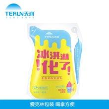 航空运输 新疆酸奶 天润酸奶冰淇淋化了 180g*12袋 深圳包邮