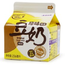 九龙维记原味豆奶 18盒*236ml