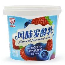 九龙维记罐装蓝莓发酵乳 6罐*1000g