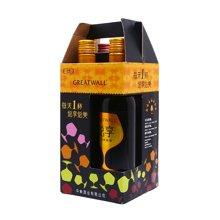 长城悦享.悦颜葡萄酒礼盒(375ml*4)