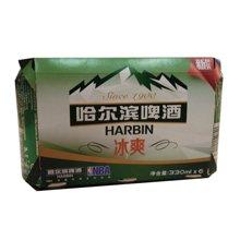 哈尔滨冰爽啤酒六连包(1*4*330ml)