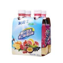 新奇士果汁汽水组合装X((380ml*4))
