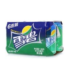 ¥雪碧柠檬味汽水((330ml*6))