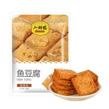 【小胡鸭 烧烤味鱼豆腐158g】零食小吃豆腐干烧烤豆干辣条袋
