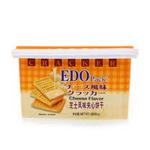 EDO Pack芝士风味夹心饼干(600g)