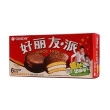 》好丽友.派巧克力味涂饰蛋类芯饼(204g)