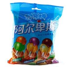 阿尔卑斯双享棒混合口味硬糖棒棒糖9支装(144g)