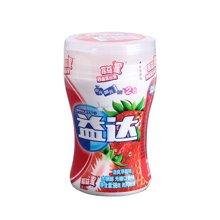 ¥益达摇益摇清爽草莓味木糖醇无糖口香糖(98g)