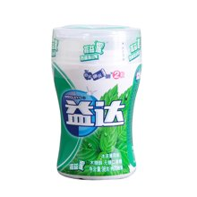 益达摇益摇冰凉薄荷味木糖醇无糖口香糖(98g)