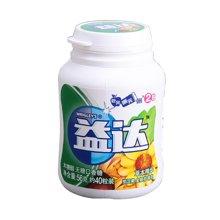 益达至尊无糖口香糖-草本精华味40粒瓶装(56g)