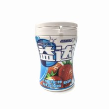 $ng益达木糖醇无糖口香糖草莓味(瓶装)(56g)