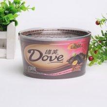 德芙什锦装牛奶榛仁葡萄干及黑巧克力碗装(249g)